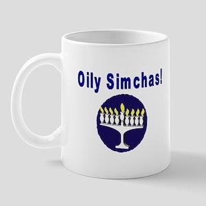 Jewish Oily Simchas Mug
