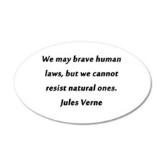 Verne On Natural Laws Wall Decal