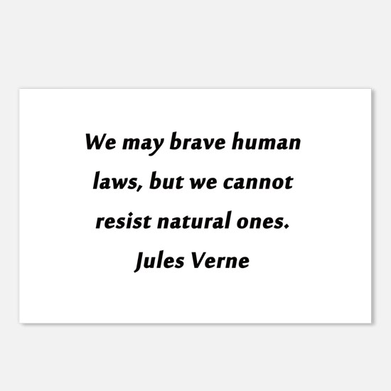 Verne On Natural Laws Postcards (Package of 8)