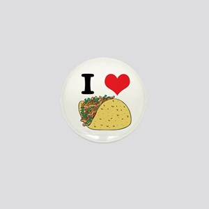 I Heart (Love) Tacos Mini Button