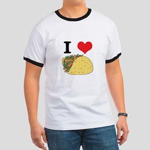 I Heart (Love) Tacos Ringer T