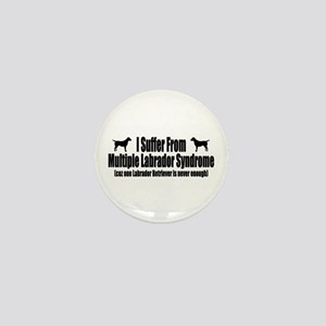 Labrador Retriever Mini Button