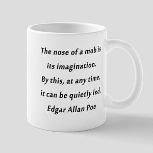 Poe on Mobs 11 oz Ceramic Mug