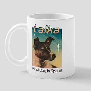 LAIKA Cosmonaut dog! Mug