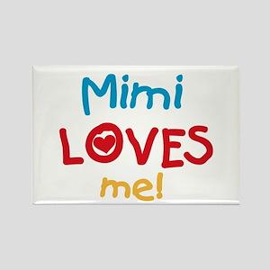 Mimi Loves Me Rectangle Magnet