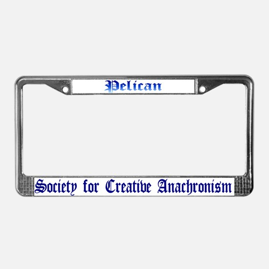 Pelican License Plate Frame
