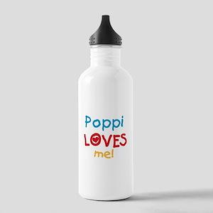 Poppi Loves Me Water Bottle