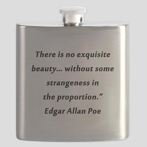 Poe On Beauty 2 Flask
