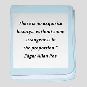 Poe On Beauty 2 baby blanket
