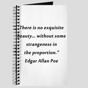 Poe On Beauty 2 Journal