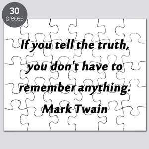 Twain On Truth Puzzle