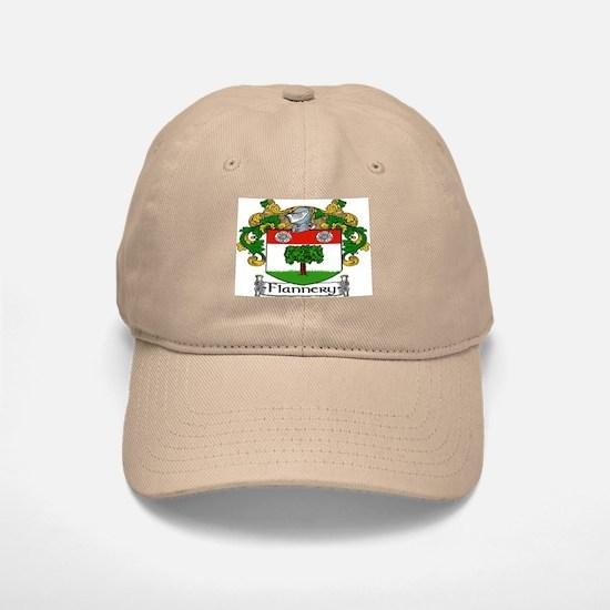 Flannery Coat of Arms Baseball Baseball Baseball Cap