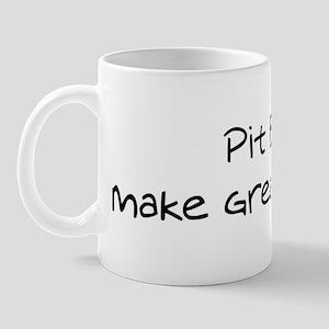 Pit Bulls make friends Mug
