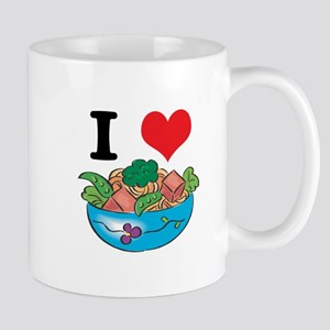 I Heart (Love) Salad Mug
