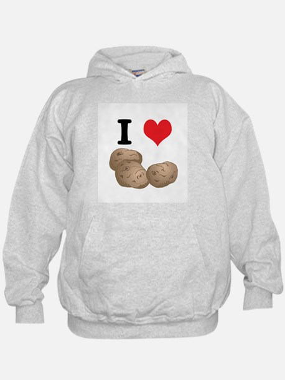 I Heart (Love) Potatoes Hoodie