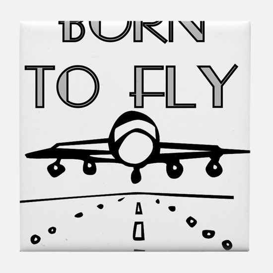 Born to Fly Tile Coaster