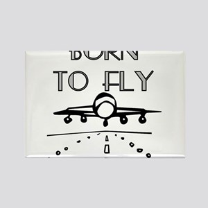 Born to Fly Rectangle Magnet