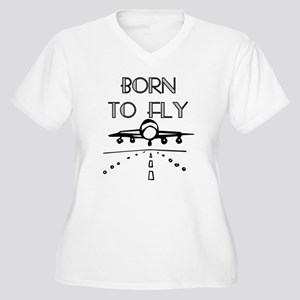 Born to Fly Plus Size T-Shirt