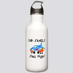 Our Family Flies High Water Bottle
