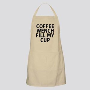 Coffee wench fill my cup Apron