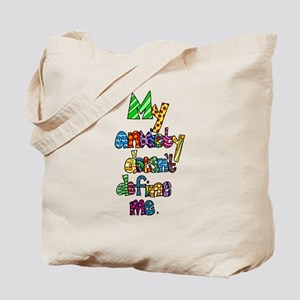 My Anxiety Tote Bag