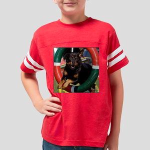 hawkeTire_vertCal Youth Football Shirt