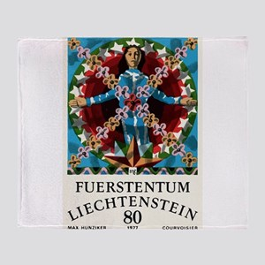 1977 Liechtenstein Virgo Postage Stamp Graphic Thr