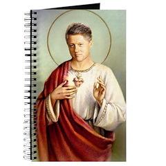 Saint Clinton blank book