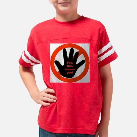 hand Youth Football Shirt