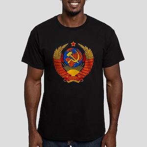 Soviet Union Coat of Arms Black T-Shirt