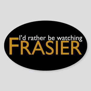 Frasier Sticker (Oval)