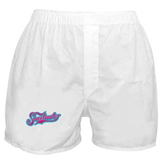 Sweetwater Pink/Teal Boxer Shorts