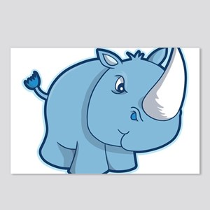 Blue Rhino Postcards (Package of 8)