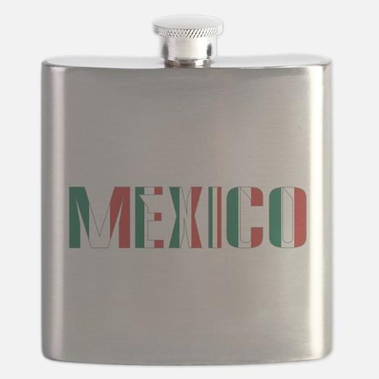 Mexico Grey Border Flask