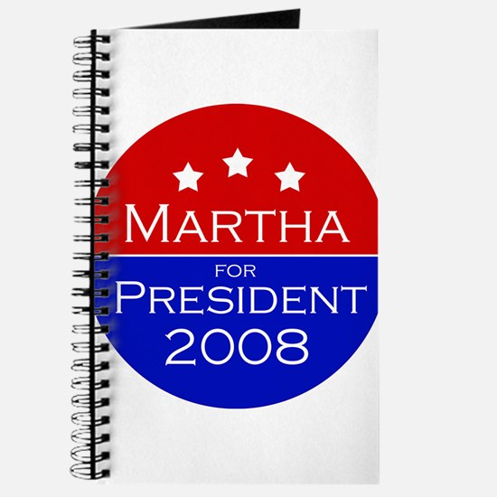Martha for president Journal