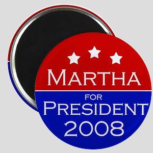 Martha for president Magnet