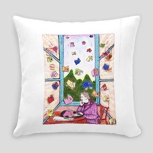 Agatha Christie Summoning Everyday Pillow