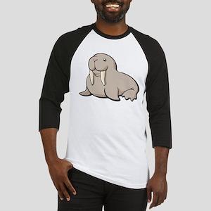 Cartoon Walrus Baseball Jersey