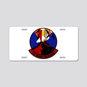 23rd Bomb Squadron Aluminum License Plate
