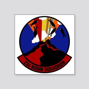 "23rd Bomb Squadron Square Sticker 3"" x 3"""