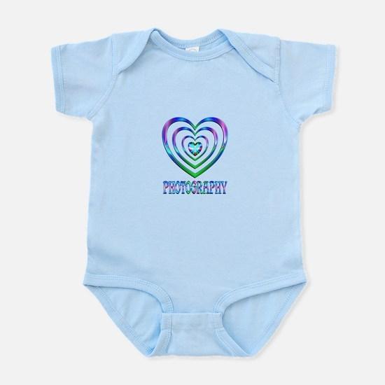 Photography Hearts Infant Bodysuit