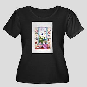 Agatha Christie Summoning Plus Size T-Shirt
