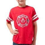 MALTESE Fire F  WHite CROSS c Youth Football Shirt