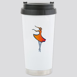 Modern Dancer 16 oz Stainless Steel Travel Mug