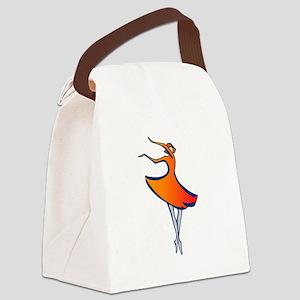 Modern Dancer Canvas Lunch Bag