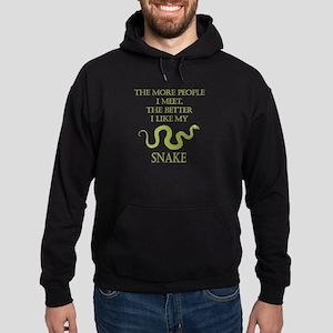 Like My Snake Hoodie (dark)