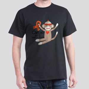 Leukemia Chemo Sock Monkey T-Shirt