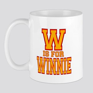 W is for Winnie Mug