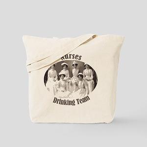 Nurses Drinking Team Tote Bag