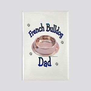 Frenchie Dad Rectangle Magnet